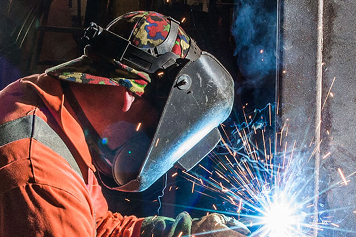 Coded Welder Close Up