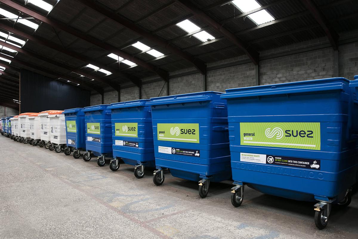 Fully Refurbished Trade Waste Wheelie Bins
